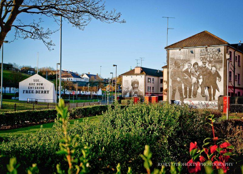 Free Derry corner in Derry's Bogside