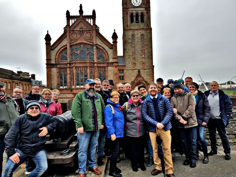 Walking Tour on Derry's Walls