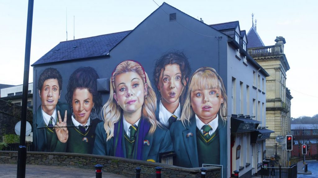 Derry Girls New Mural 2020
