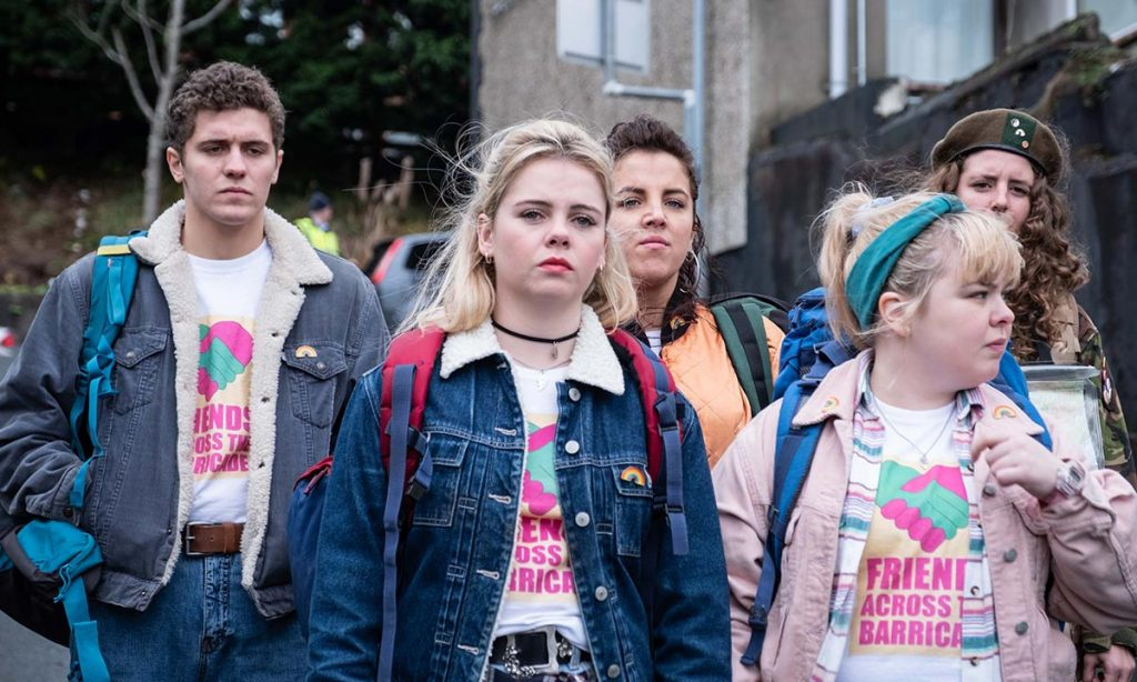 Derry Girls on location in Derry